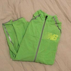 New Balance anti reflective running jacket